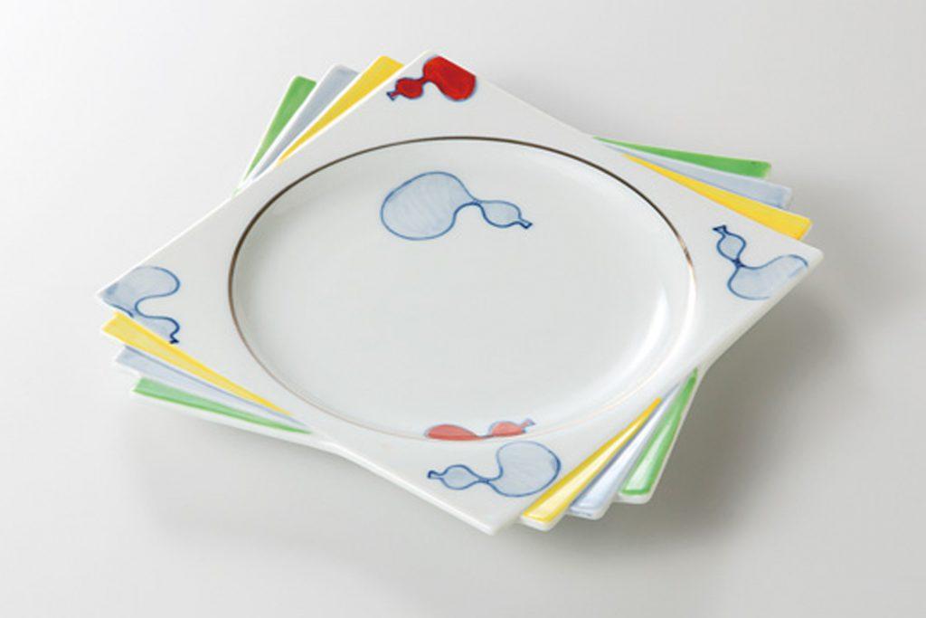六びょうたん 千代折角大皿