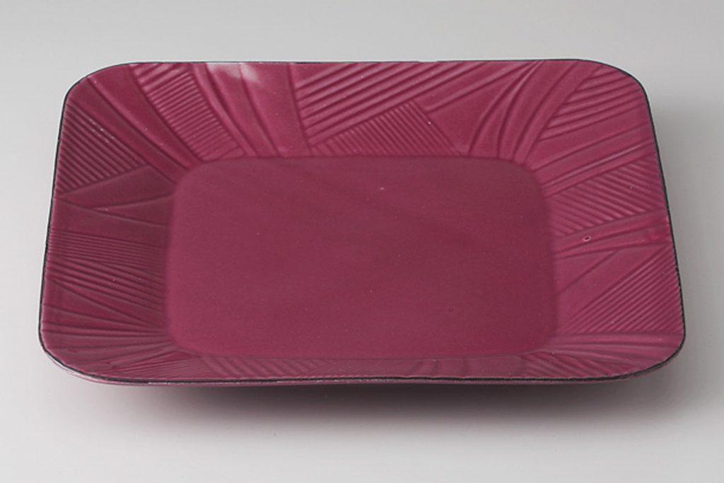 ルーチェ紫 角プレート