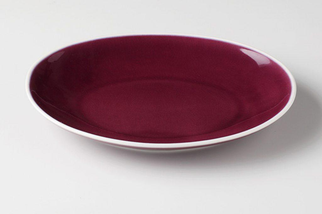 クレイズ紫 オーバルプレートS