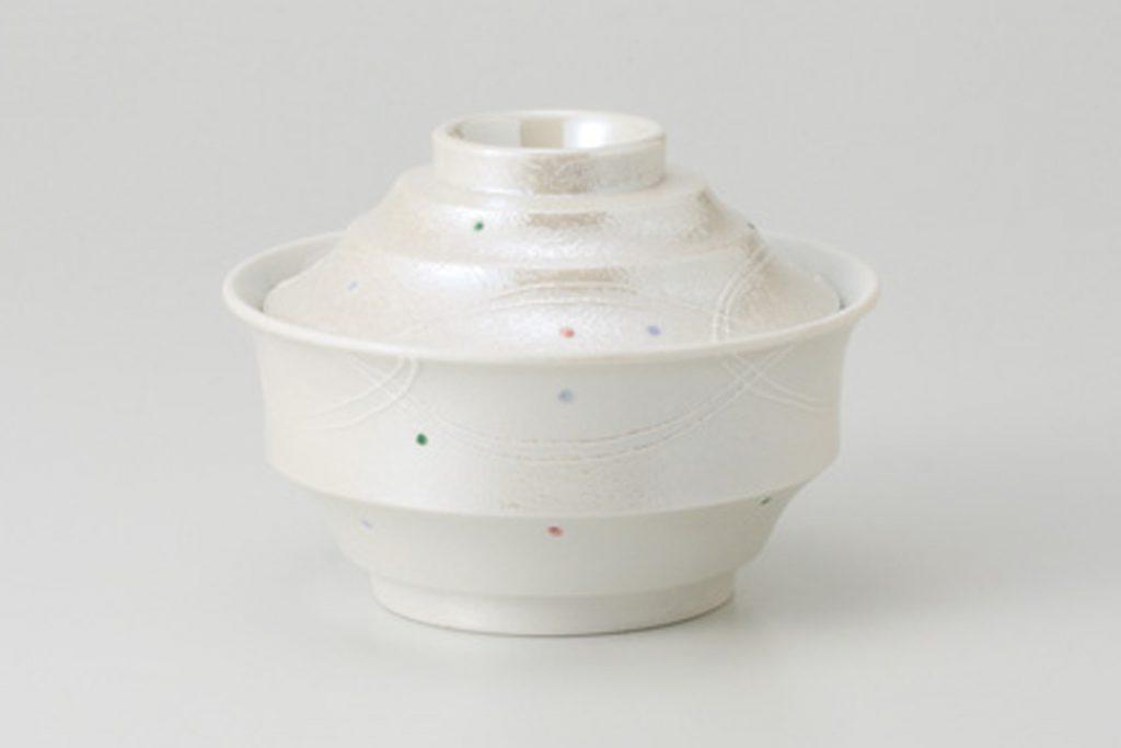 一珍色水玉 煮物碗