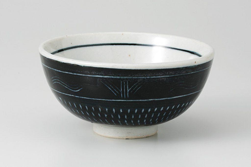 黒トチリ 茶碗
