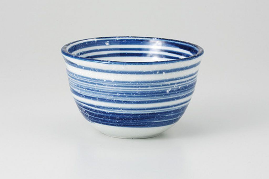 粉引ゴス刷毛 茶碗