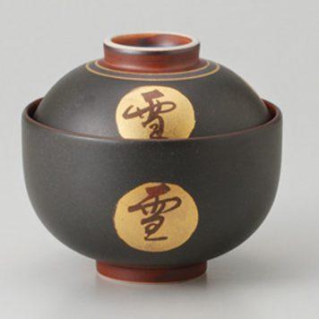 雪月花金紋 菓子碗