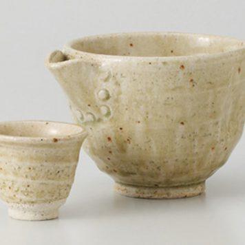 ヒワ釉 片口鉢