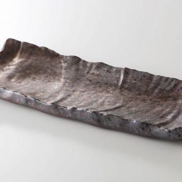 熔岩流 岩肌まな板皿
