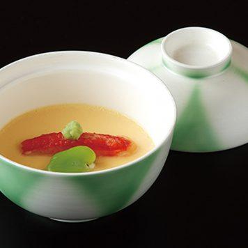 銀彩捻りヒワ 煮物碗(小)