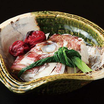 片押オリベ草花 盛鉢
