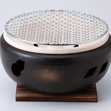 灰釉7号 水コンロ(木台網付)